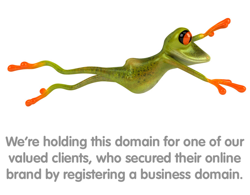 We're holding this domain for one of our valued clients, who secured their online brand by registered a business domain.